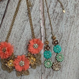 Jewelry - Fashion Jewelry Statement Necklaces  Set Of Two